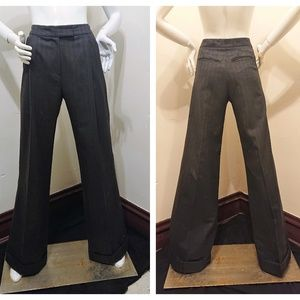 Veronique Branquinho Wide Leg Wool  Pants - Small